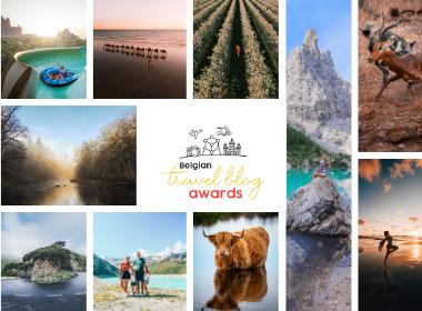 Opnieuw recordaantal inzendingen voor vierde editie Belgian Travel Blog Awards