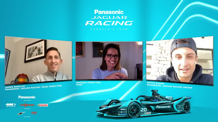 LANCEMENT JAGUAR RACING DE LA SÉRIE DE PODCASTS VIDÉO « RE:CHARGE AT HOME »