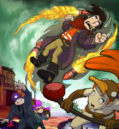 Chaos on Deponia: Rufus is back on PS4 and Xbox One