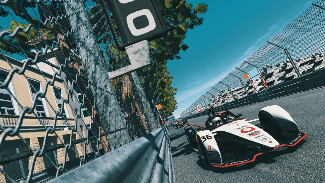 "ABB FIA Formula E Championship 2019/2020, round three of the ""Race at Home Challenge"""