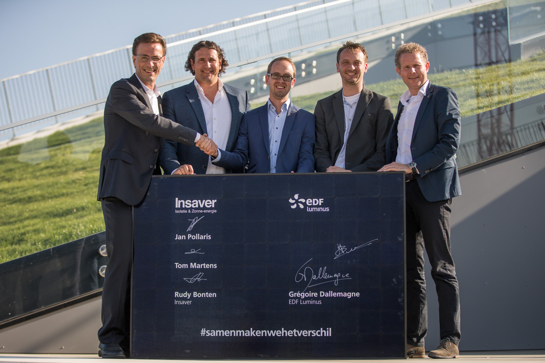 EDF Luminus poursuit son développement dans les services d'efficacité énergétique en prenant une participation majoritaire dans la société Insaver