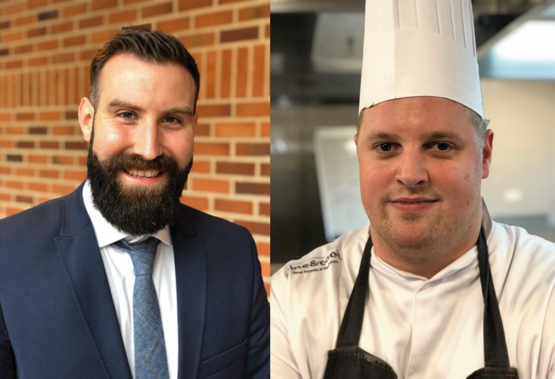 Nicolas Tournay a remporté le concours 'Premier Cuisinier de Belgique 2020'. Maxime Verstuyft est devenu 'Premier Maître d'Hôtel de Belgique 2020'