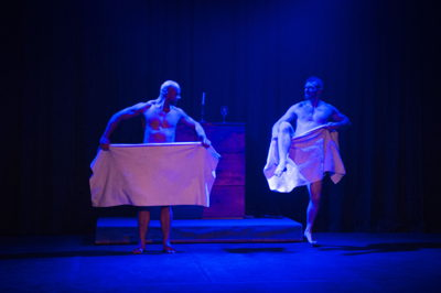 A scene from Au Revoir, pic Jan Potgieter