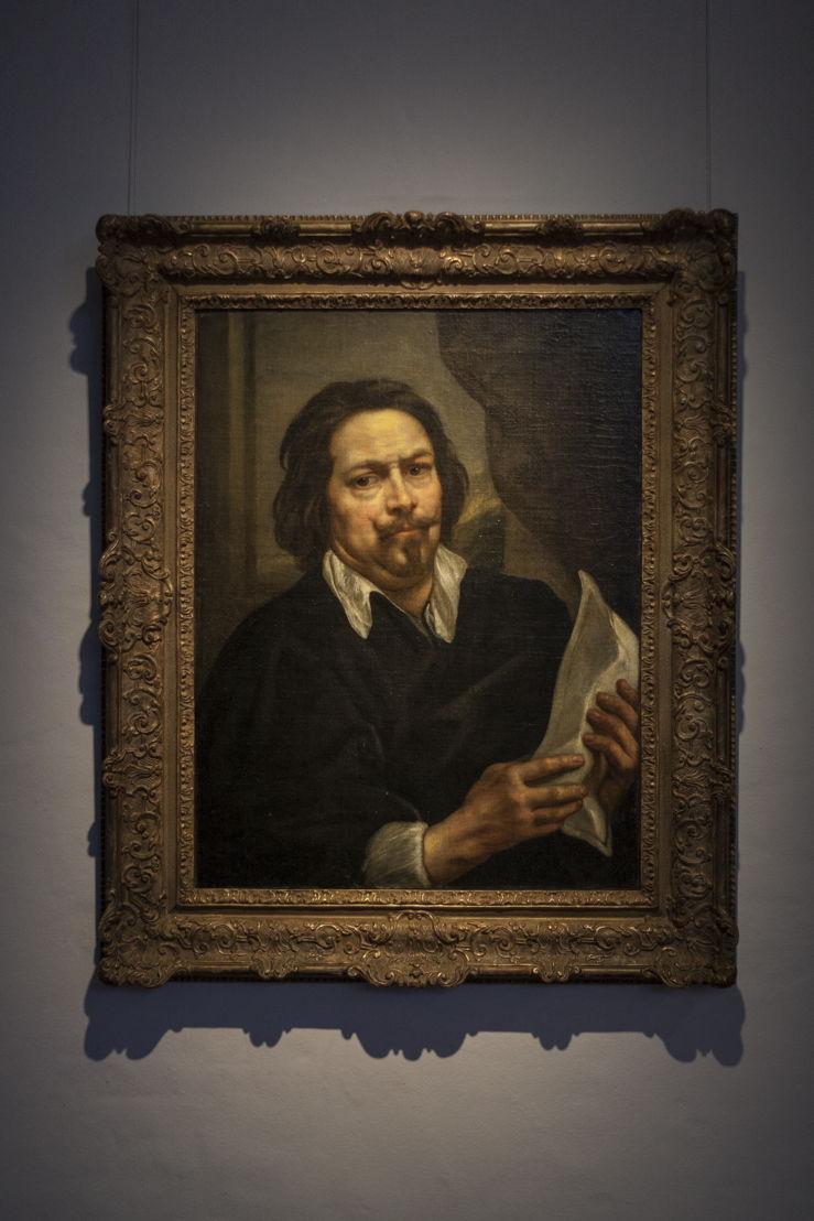 Jacob Jordaens, Zelfportret, langdurig bruikleen van Koning Boudewijnstichting, foto Ans Brys
