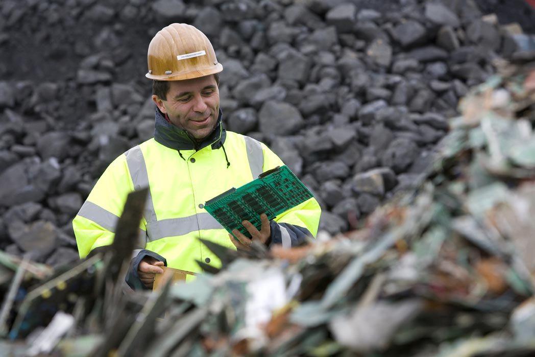 Profil du travailleur vert  - Thierry van Kerckhoven, © Umicore, 2017