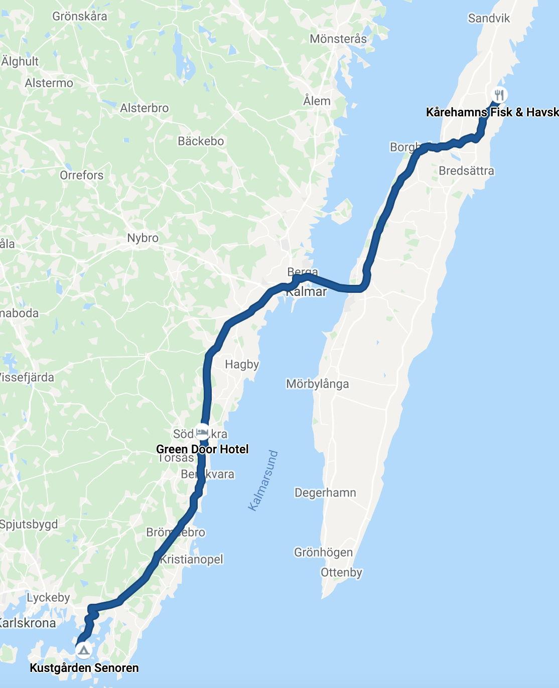 Drive to Öland