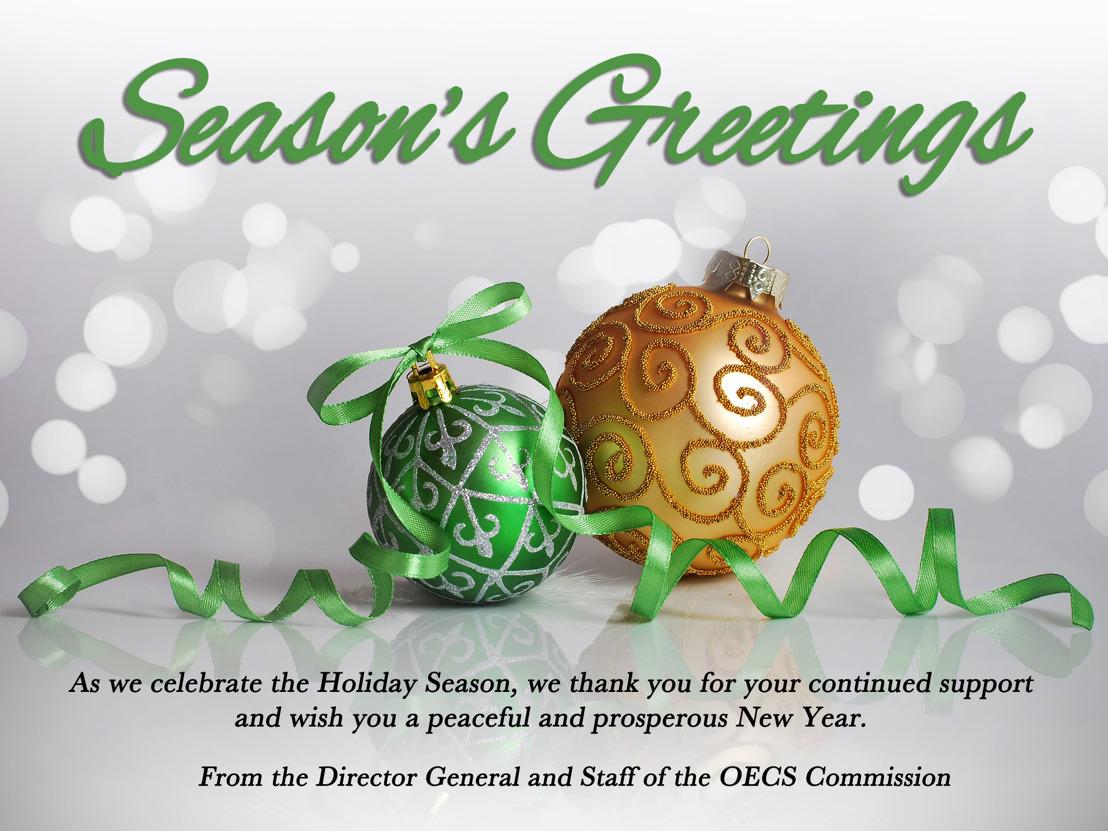 Season's Greetings from the OECS