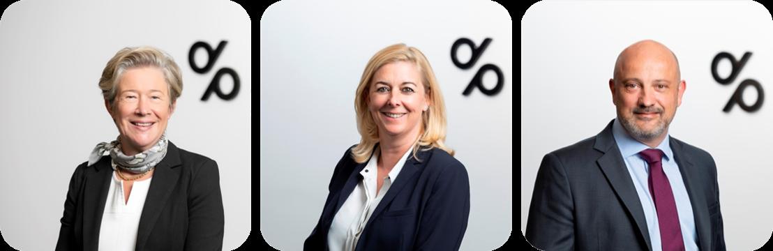 Degroof Petercam au Luxembourg annonce plusieurs nominations au niveau de Degroof Petercam Asset Services S.A. et de Banque Degroof Petercam Luxembourg S.A.