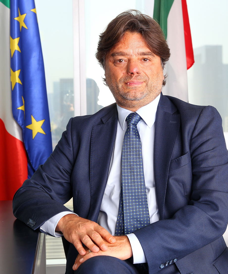 Gianpaolo Bruno, Italian Trade Commissioner to the UAE, Oman and Pakistan, ICE (Italian Trade Commission)