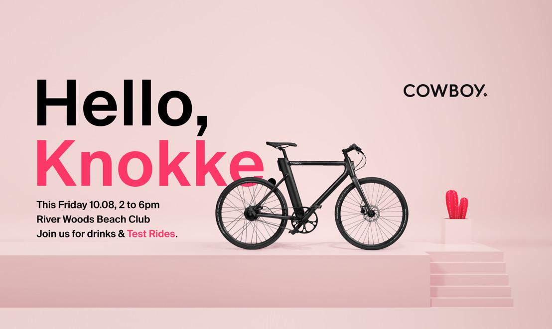 Maak kennis met de Cowboy fiets in Knokke