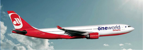 airberlin is now part of oneworld
