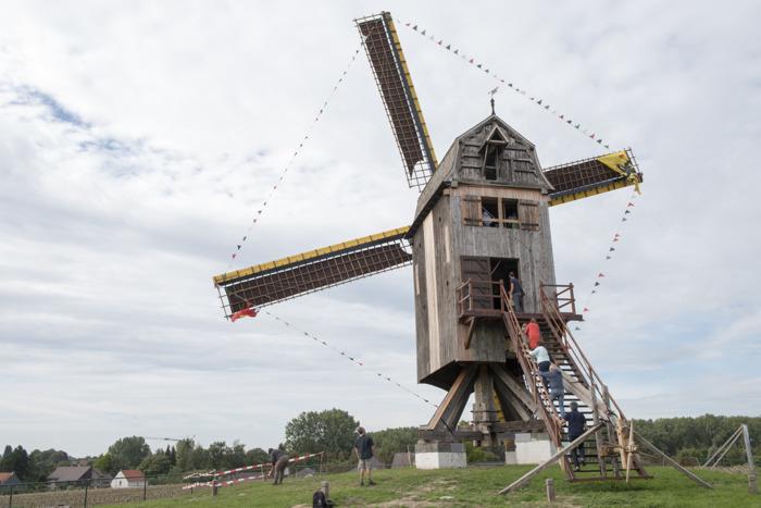 Oost-Vlaamse molens openen eindelijk weer de deuren