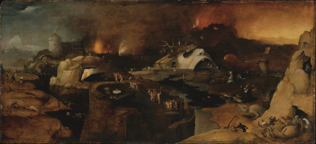 Op zoek naar Utopia © Jheronimus Bosch (navolger), Christus' nederdaling ter helle, ca. 1525 – 1550. New York, The Metropolitan Museum of Art (Harris Brisbane Dick Fund).