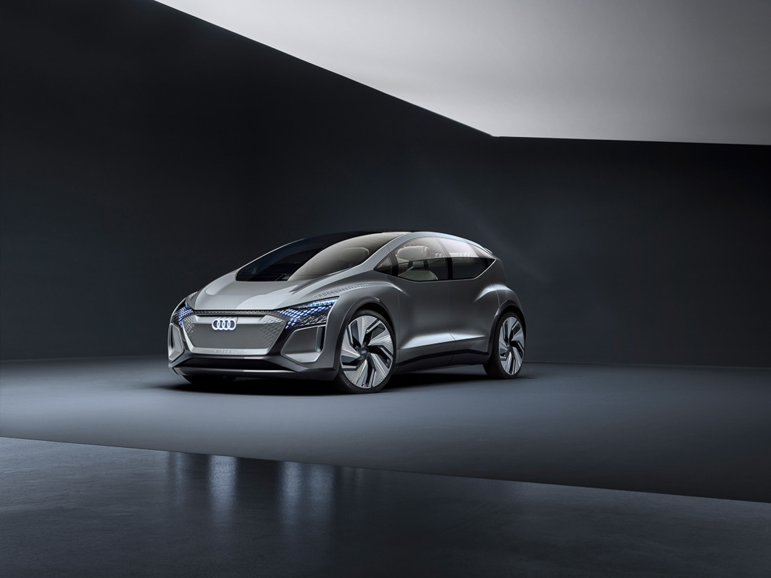 Mobiliteit voor megasteden: de Audi AI:ME