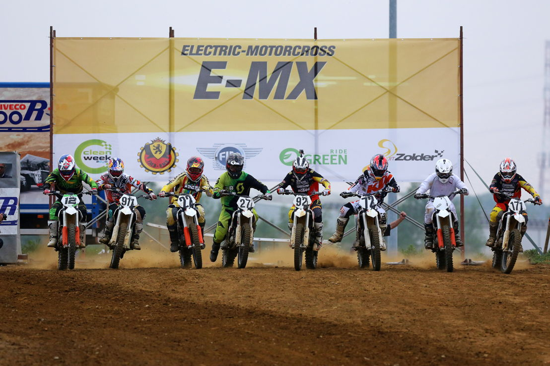 Start finale E-MX Race of Champions 2014, Credit: CDS