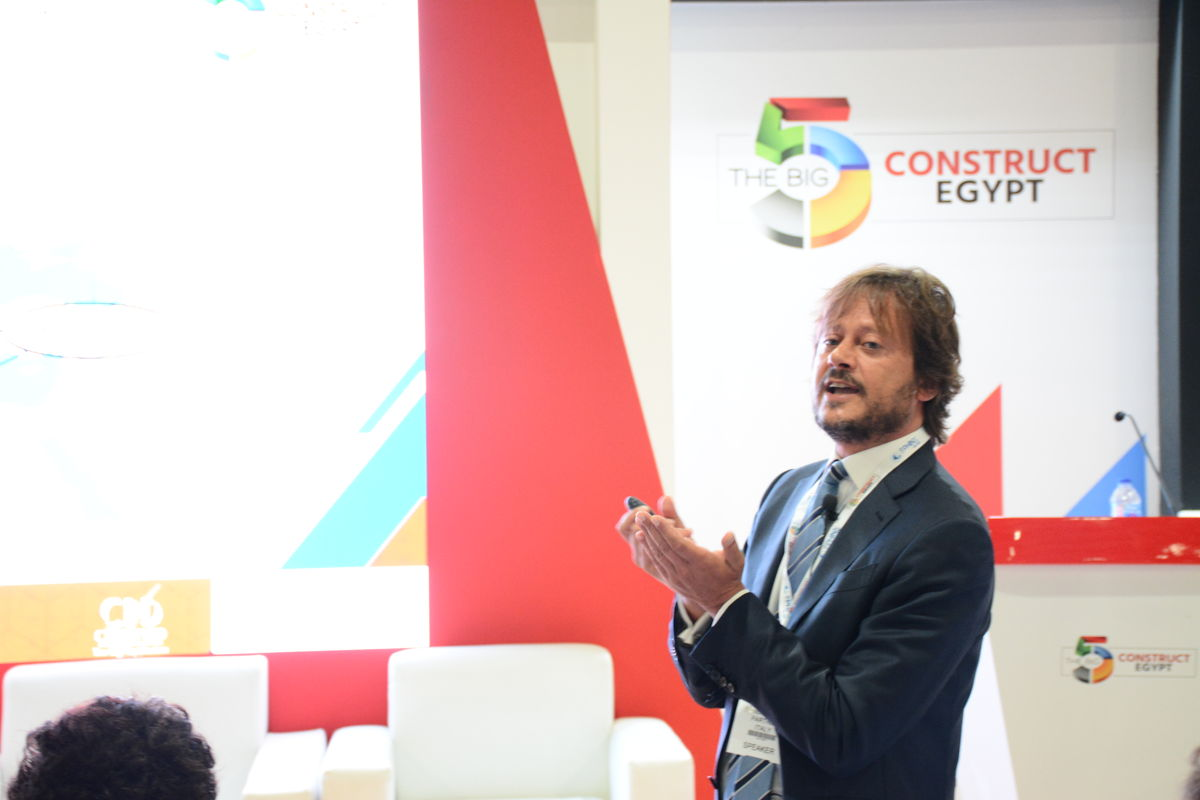 Experts at The Big 5 Construct Egypt 2019
