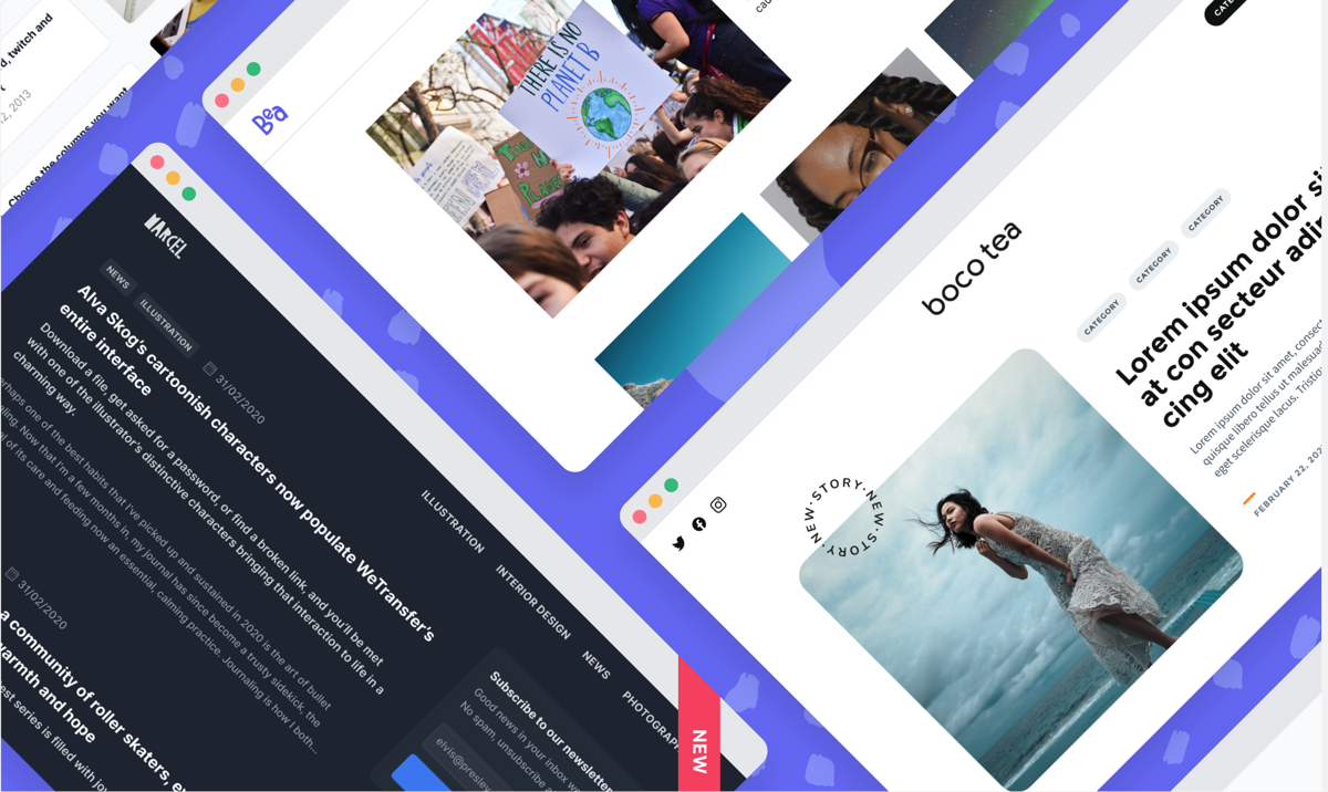 News: Announcing Open Newsroom Themes