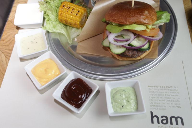 Hamburger - HAM HOLY BURGER