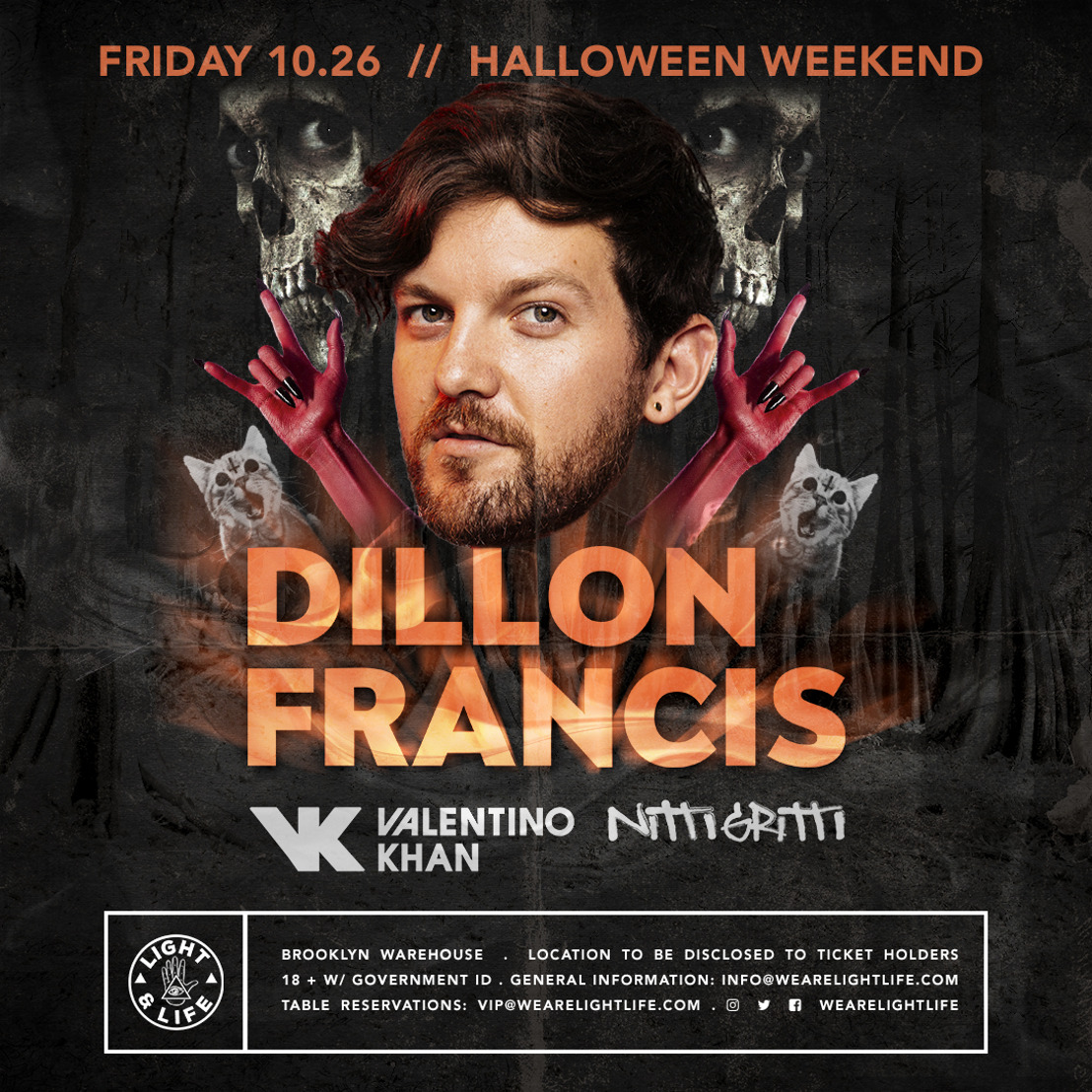 Light & Life Announces NYC Halloween Weekend Event