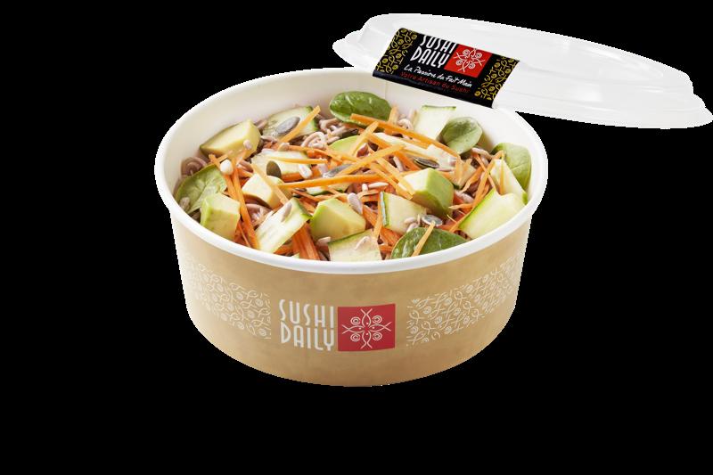 Salad Soba Veggie