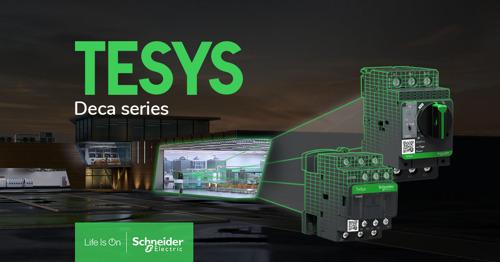 Schneider Electric introduceert de nieuwe generatie motorstarters TeSys Deca