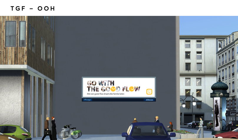 The Good Flow billboard