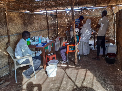 SUDAN/ETHIOPIA: MSF provides medical care & assistance in Sudan to people fleeing the violence in Ethiopia