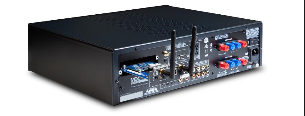 NAD's New C 399 HybridDigital DAC Amplifier with MDC2 BluOS-D Module