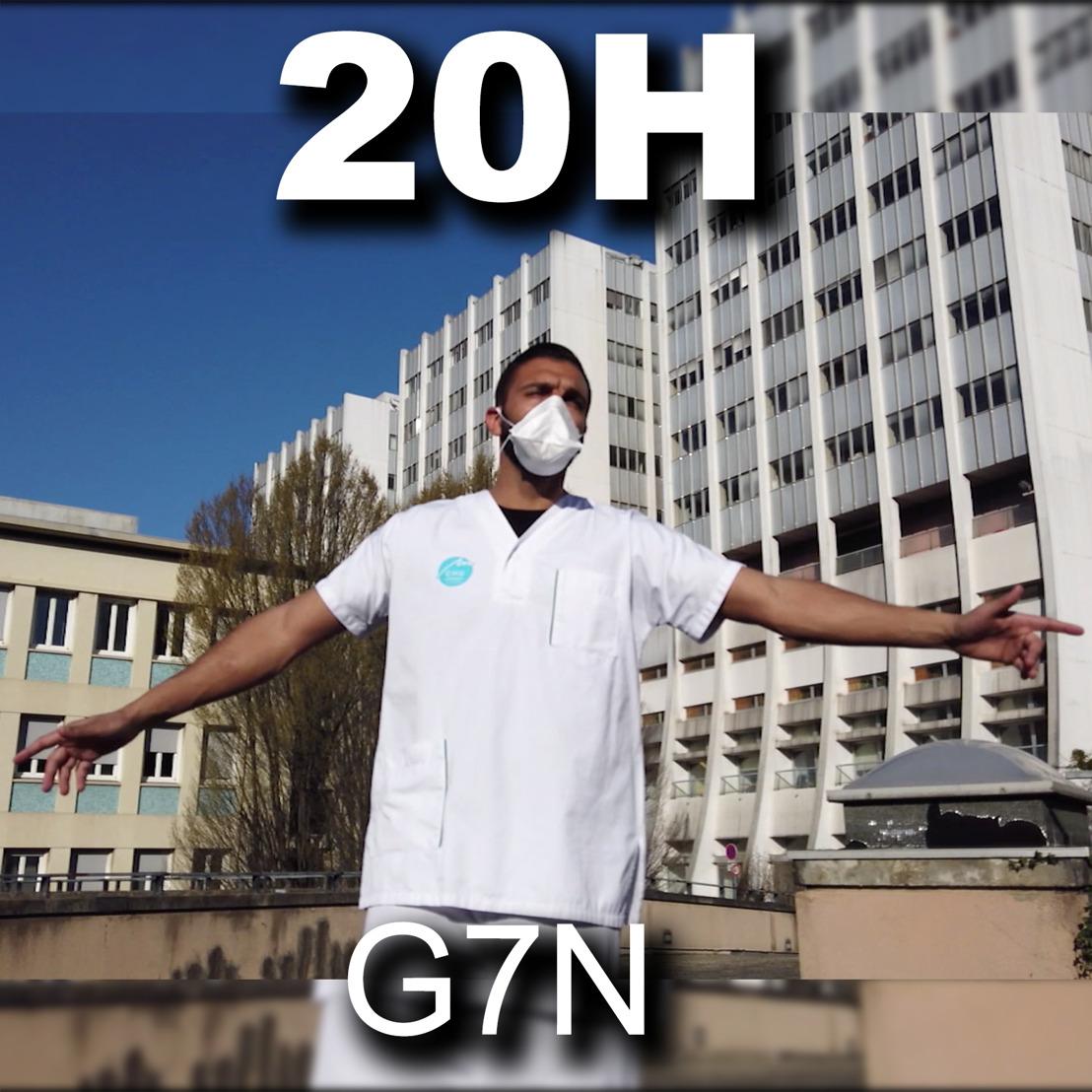 G7N : Leur titre 20H, un bel hommage au personnel soignant travaillant avec courage et sans relâche depuis le début de la crise sanitaire.