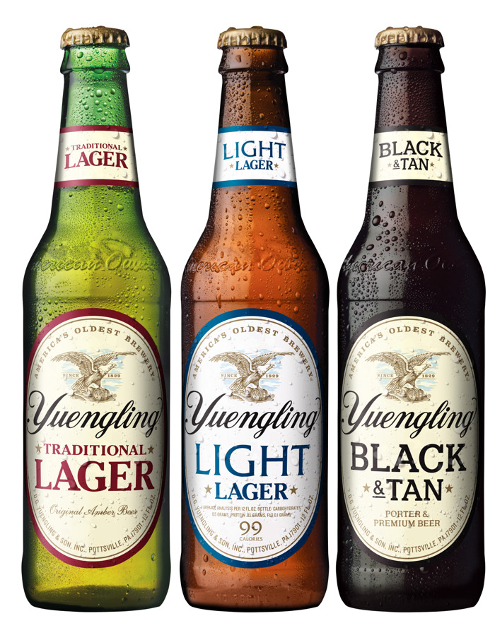Iconic Eagle packaging gives Yuengling a new look