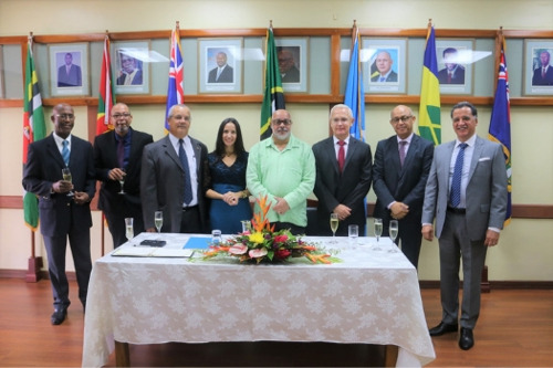 El nuevo embajador de Cuba acreditado ante la OECS