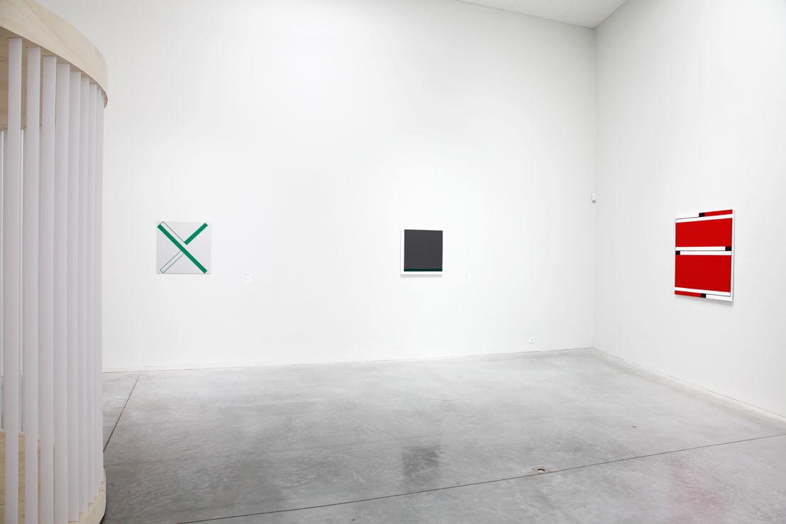 Exposition Twisted Strings. Vue sur les oeuvres de Caroline Van Damme <br/>Foto (c) 2016 KK / www.document-architecture.com