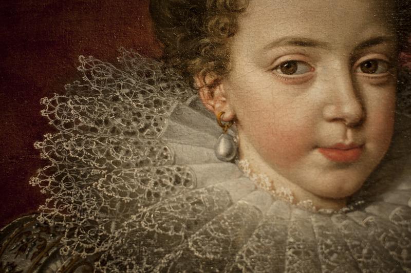 Frans Pourbus de Jonge, Portret van Elisabeth van Frankrijk, (c) Ans Brys