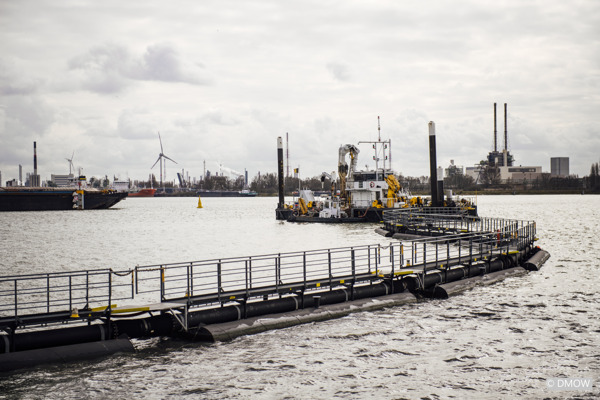 Preview: The Flemish government, Port of Antwerp and SeReAnt together improve the water quality at the Port of Antwerp