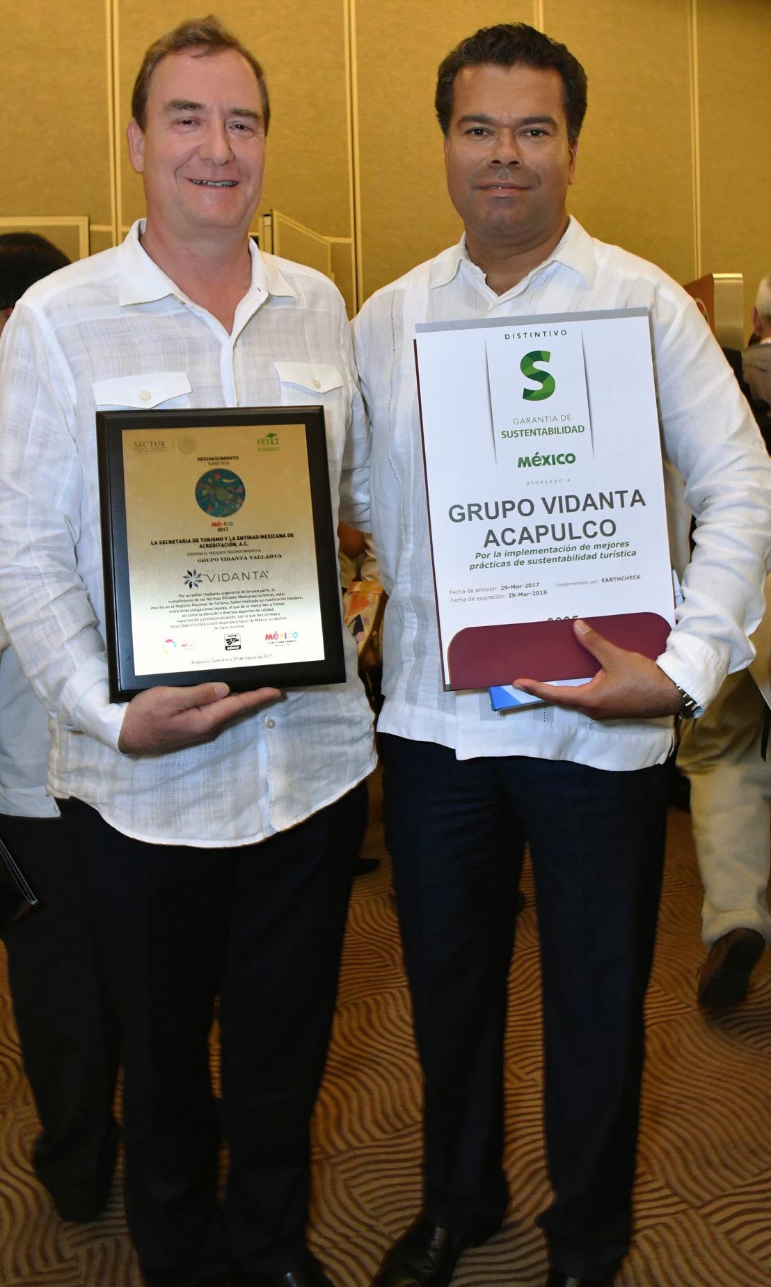 Reconoce SECTUR a Grupo Vidanta durante el Tianguis Turístico 2017 con sede en Acapulco