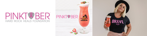 Preview: Hard Rock Cafe Antwerpen/Brussel kleurt felroze voor 20e PINKTOBER®-campagne in de strijd tegen borstkanker