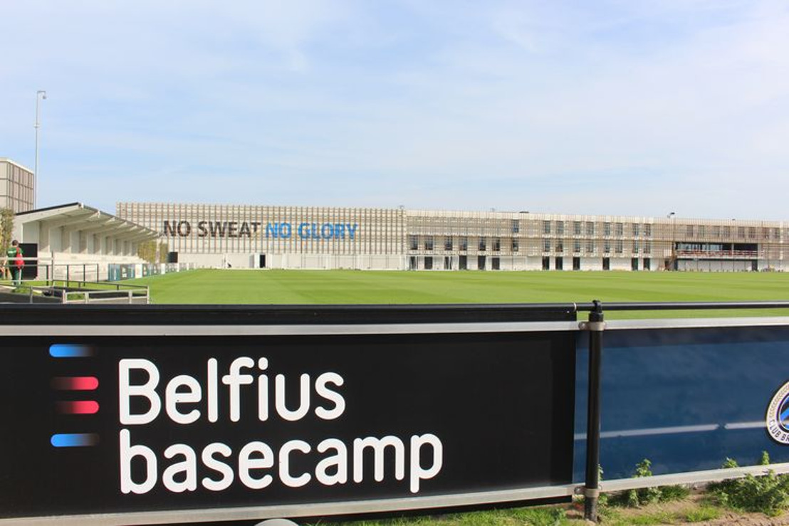 Le nec plus ultra pour le nouveau centre d'entraînement du Club de Bruges