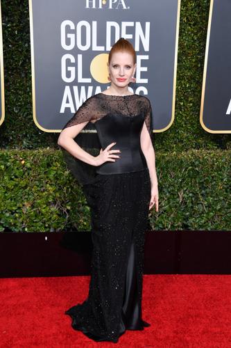 Las celebridades que lucieron Burberry en la 76ª edición de los premios Golden Globe Awards