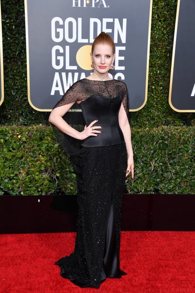 Preview: Las celebridades que lucieron Burberry en la 76ª edición de los premios Golden Globe Awards