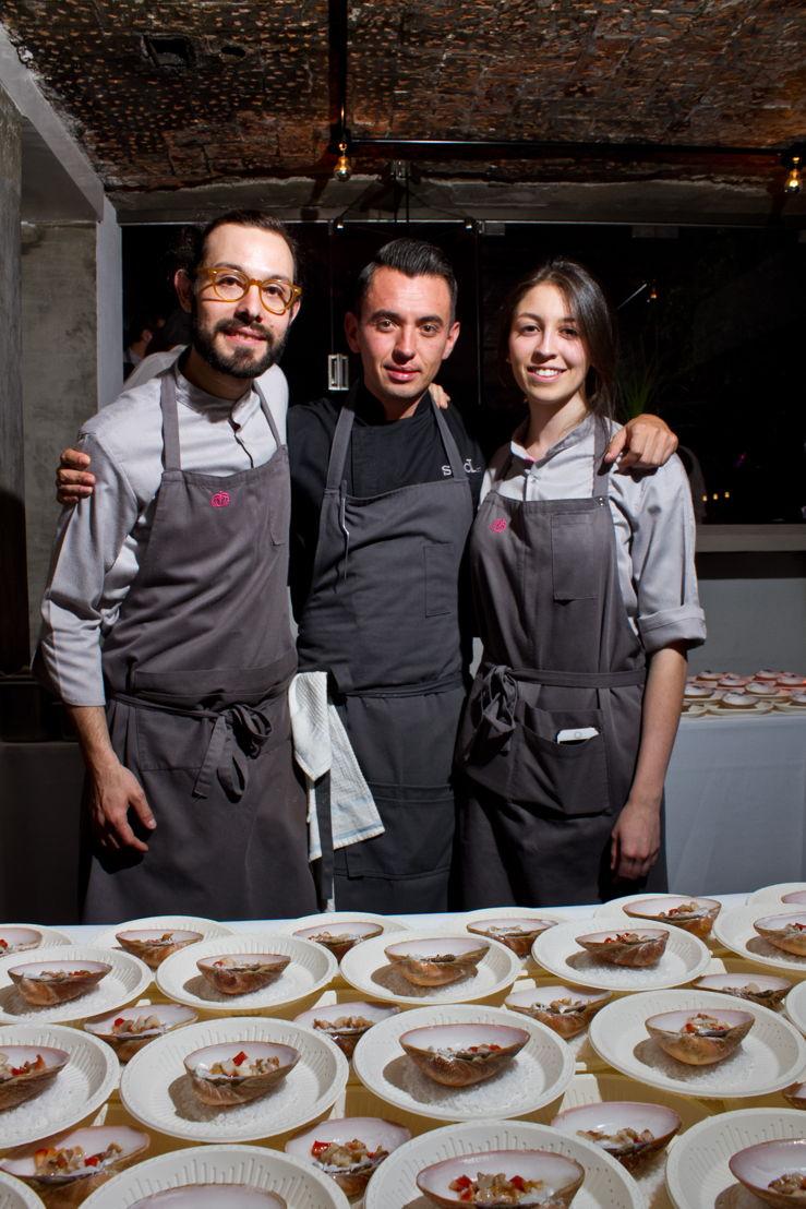Chef Joaquín, Chef Edgar y Chef Sofía