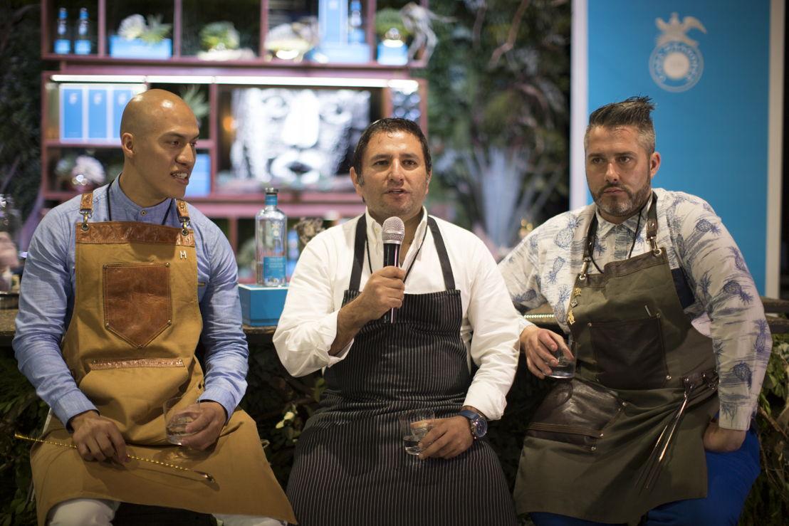 Jonathan Frausto de Moxi, Chef Carlos Hannon de Rosewood San Miguel de Allende y Adrian Evans de Grupo Levainco