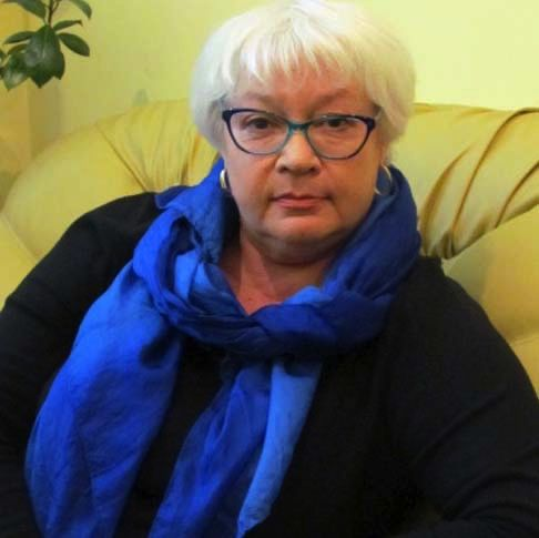 Olga Ravliuk-Golitsyna, director of the Institute of Screen Arts, Honored Worker of Culture of Ukraine, associate professor of cinematography at Kyiv National I.K. Karpenko-Kary Theatre, Cinema, and Television University. Photo: official website of the university