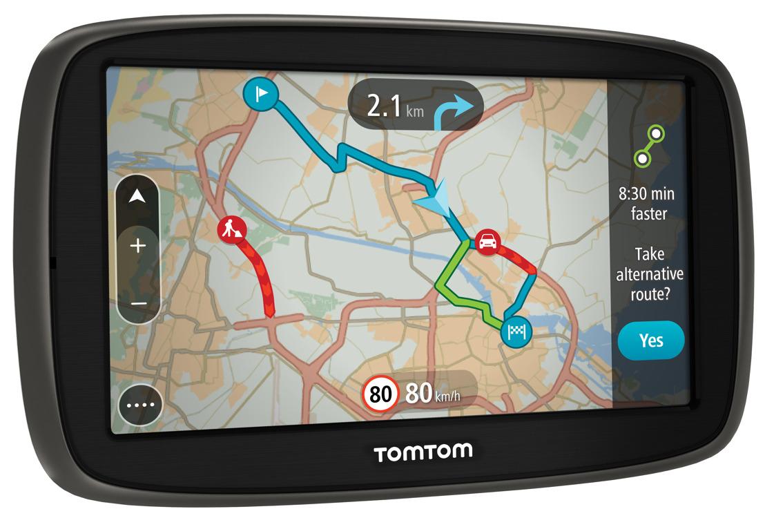 TomTom breidt aanbod navigatiesystemen uit met GO 51 en GO 61