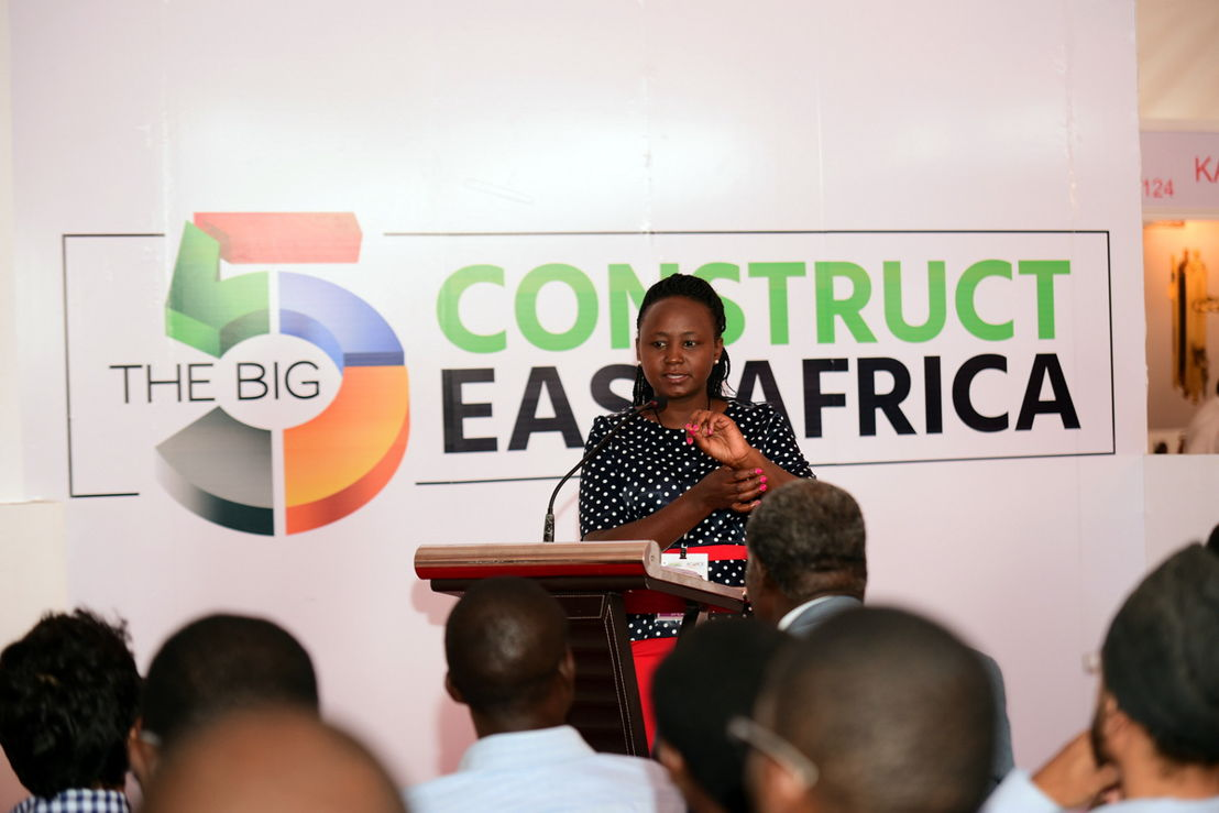 Workshop at The Big 5 Construct East Africa 2016