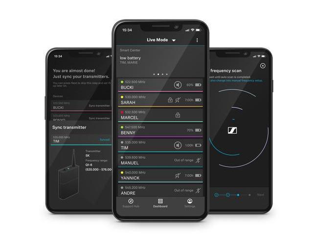 Персональный радиоинженер: приложение SmartAssist поможет настроить ваши беспроводные микрофоны