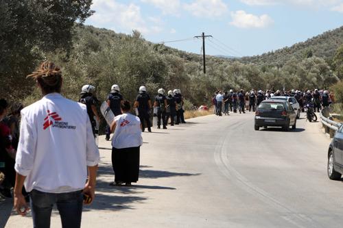 Griechenland: Ärzte ohne Grenzen schockiert über Angriff auf Kinderklinik