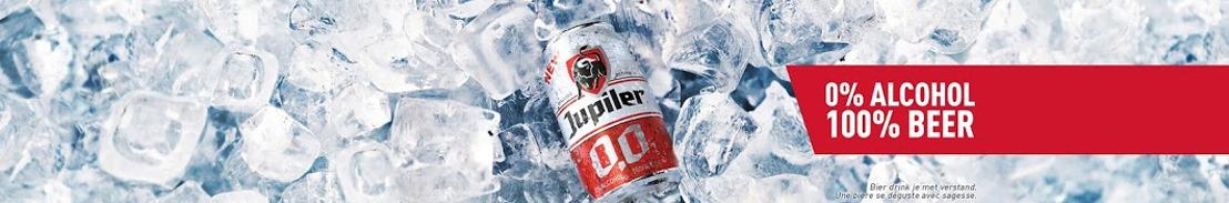 Le processus de brassage innovant de la Jupiler 0,0% couronné du prix de la Distribution