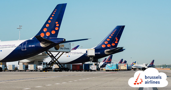 Preview: Brussels Airlines signe un contrat avec la société de manutention Alyzia