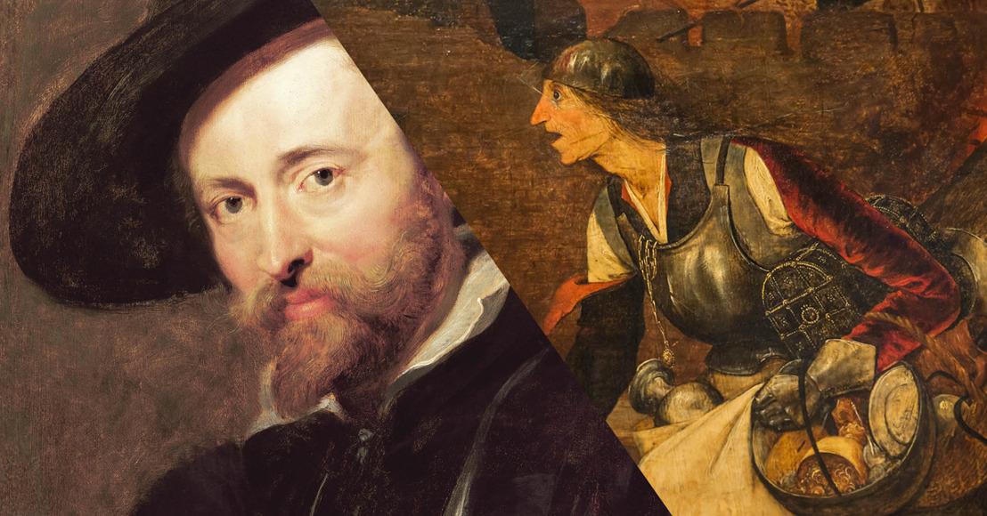 Restauration de l'Autoportrait de Rubens et de Margo la Folle de Breughel