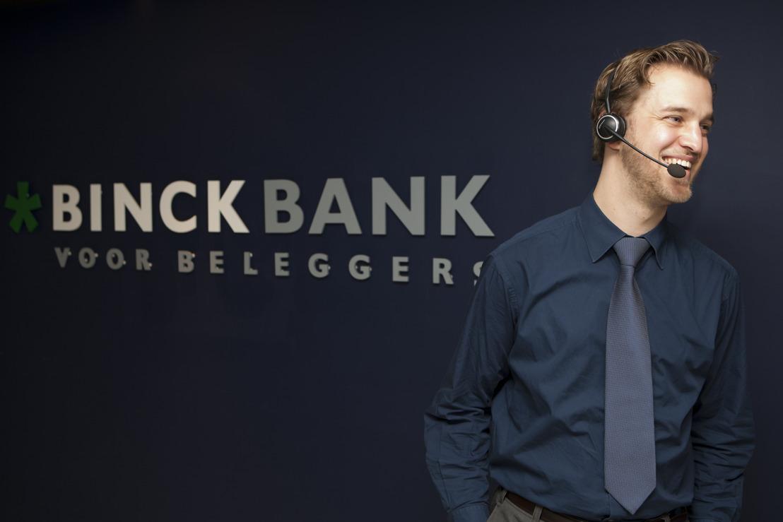 BinckBank boekt sterkste eerste kwartaal ooit in België
